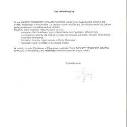 Referencje prezydent miasta Pruszków